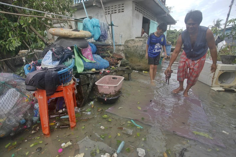 Flood aggravates in Thailand's deep south