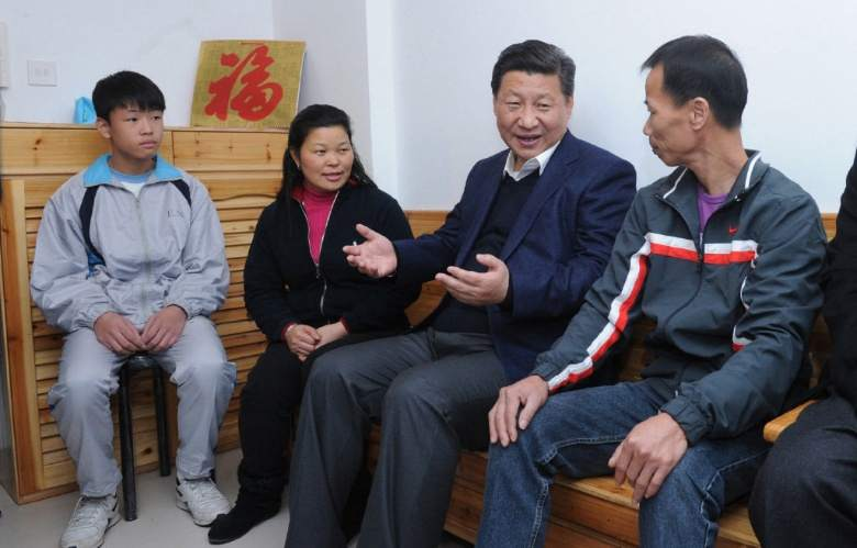 The warmth between President Xi and Macao family