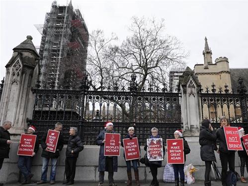 British Brexit department to shut down after Jan. 31 deadline