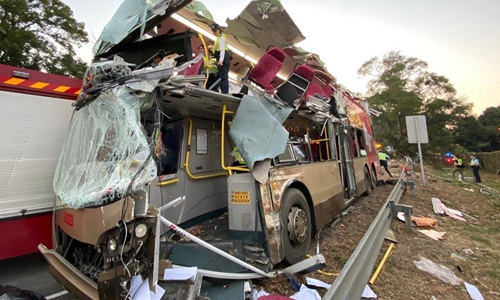 Hong Kong bus driver charged with dangerous driving after fatal crash that kills 6