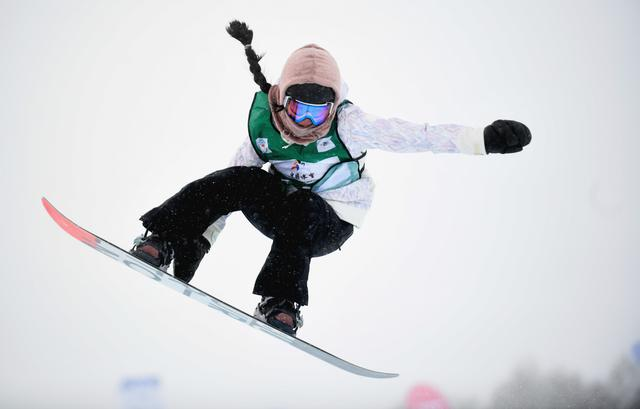 Liu Jiayu wins Halfpipe World Cup in Chongli