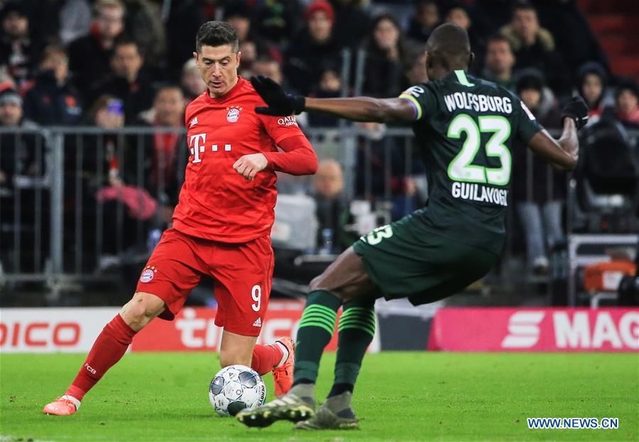 German Bundesliga: Bayern Munich vs. Wolfsburg
