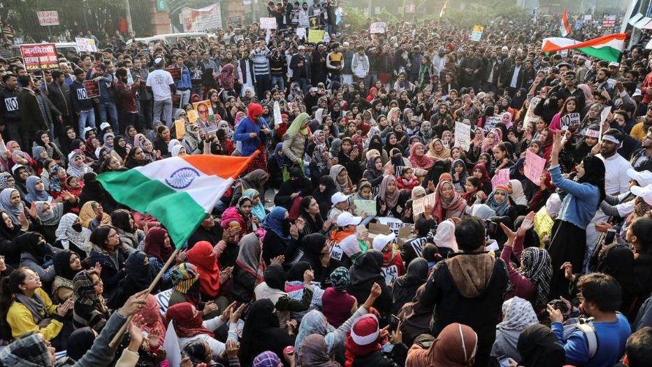 At least 1,500 arrested in India during days of protests over citizenship law