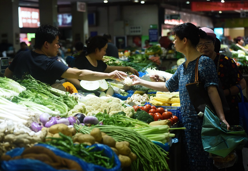 China Shouguang vegetable price index down 1.15 pct