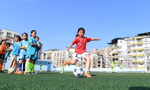 China's soccer promotion aims to score goals with the country's youth