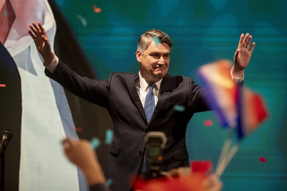 Croatian presidential election to go to runoff in January