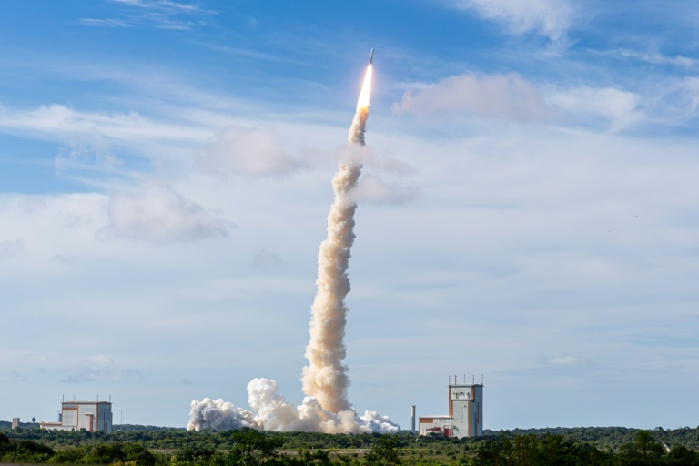 Europe marks 40th anniversary of first Ariane rocket launch