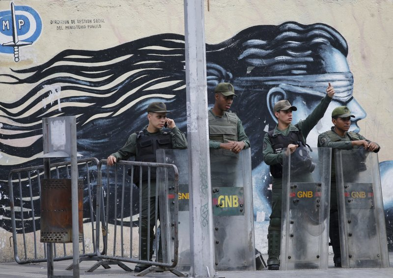 Attackers hit Venezuela military post, 1 soldier killed