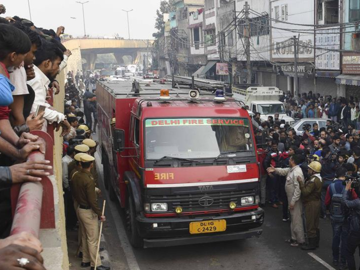 Nine dead in Delhi fire