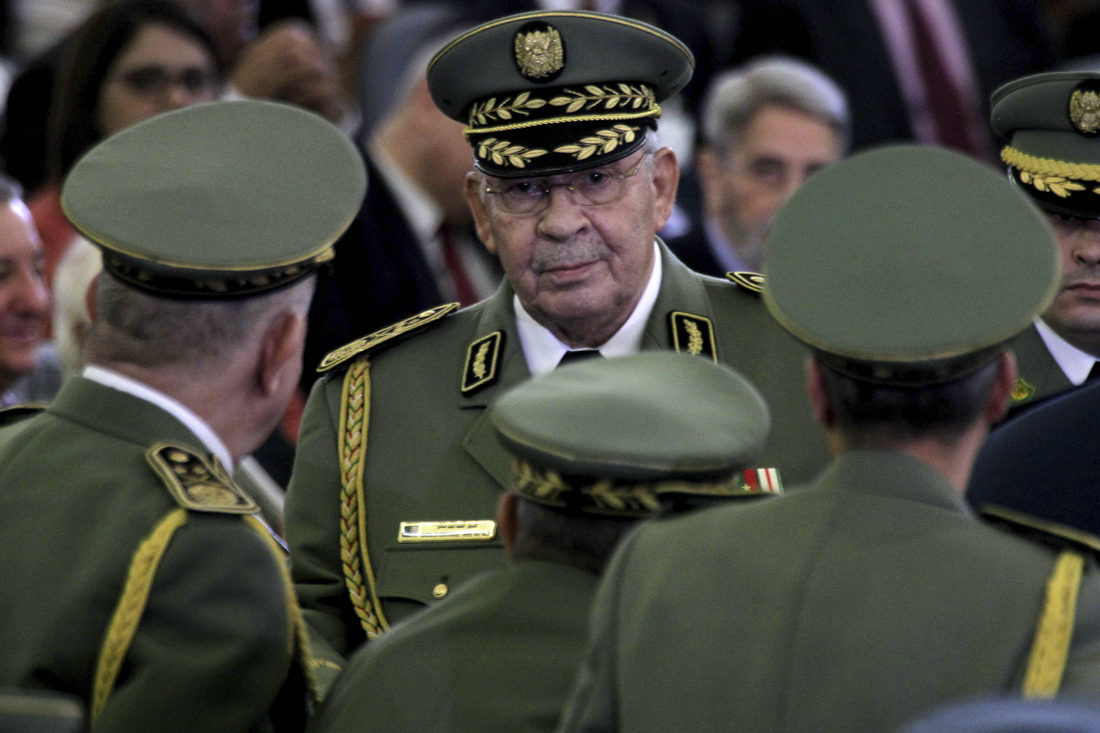 Algeria announces 7-day mourning over death of army chief