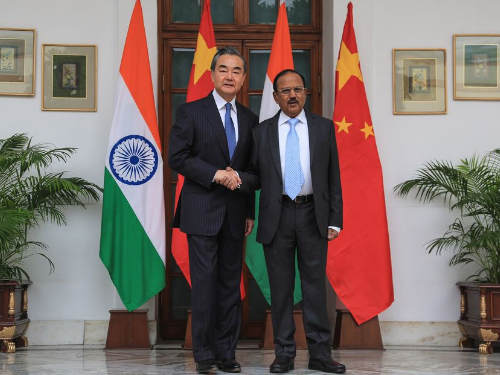Progress seen in China, India meeting on border question