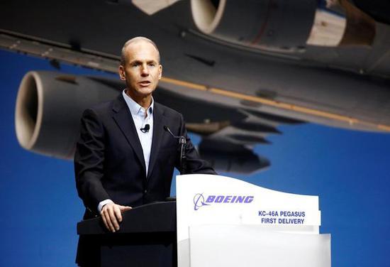 Boeing CEO Muilenburg steps down, Chair David Calhoun named chief