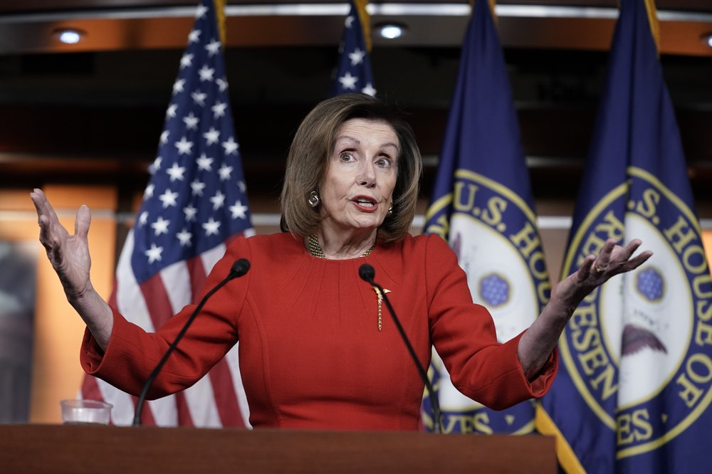 White House predicts Pelosi to `yield' on impeachment delay