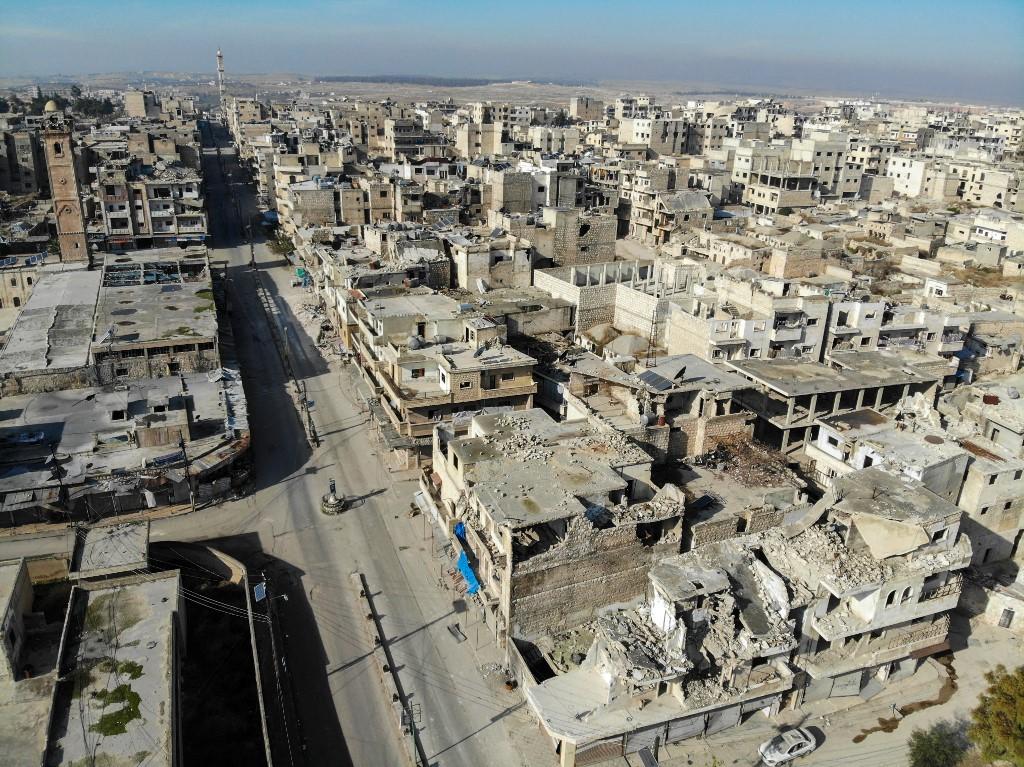 Syrian army close to key rebel bastion in Idlib: report