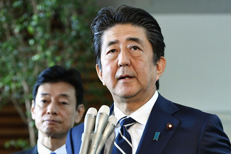 Abe eyes talks with Moon amid strained Japan-S. Korea diplomatic, trade ties
