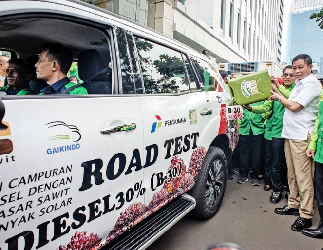 Indonesia commences using B30 to preserve environment