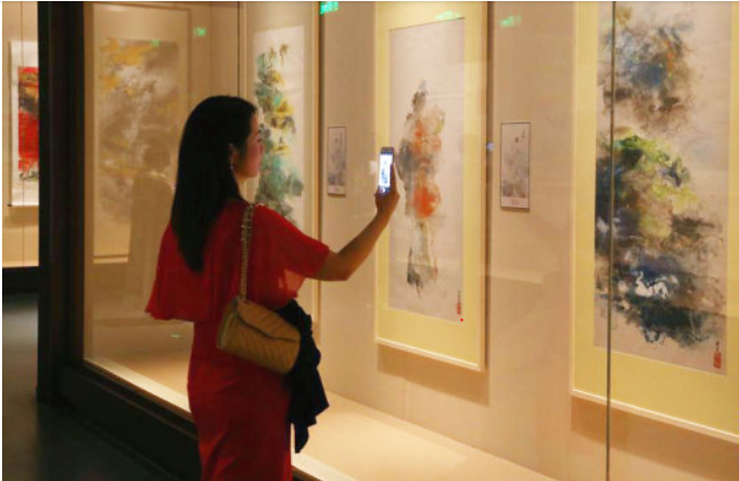 Chinese painter's heritage preserved at US museum