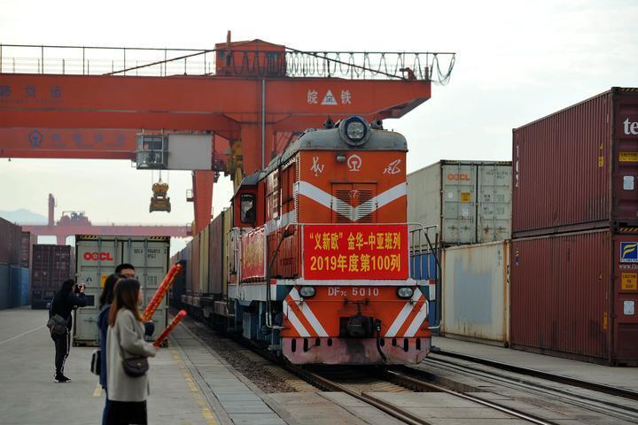 Meteorological service platform launched for Yiwu-Xinjiang-Europe trains