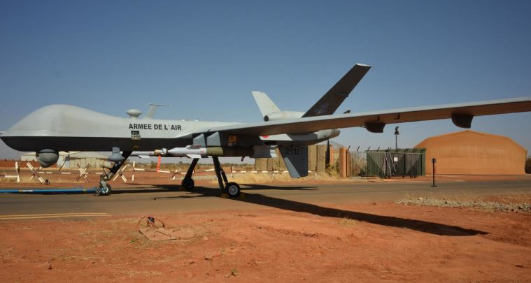 France says it carries out 1st armed drone strike in Mali