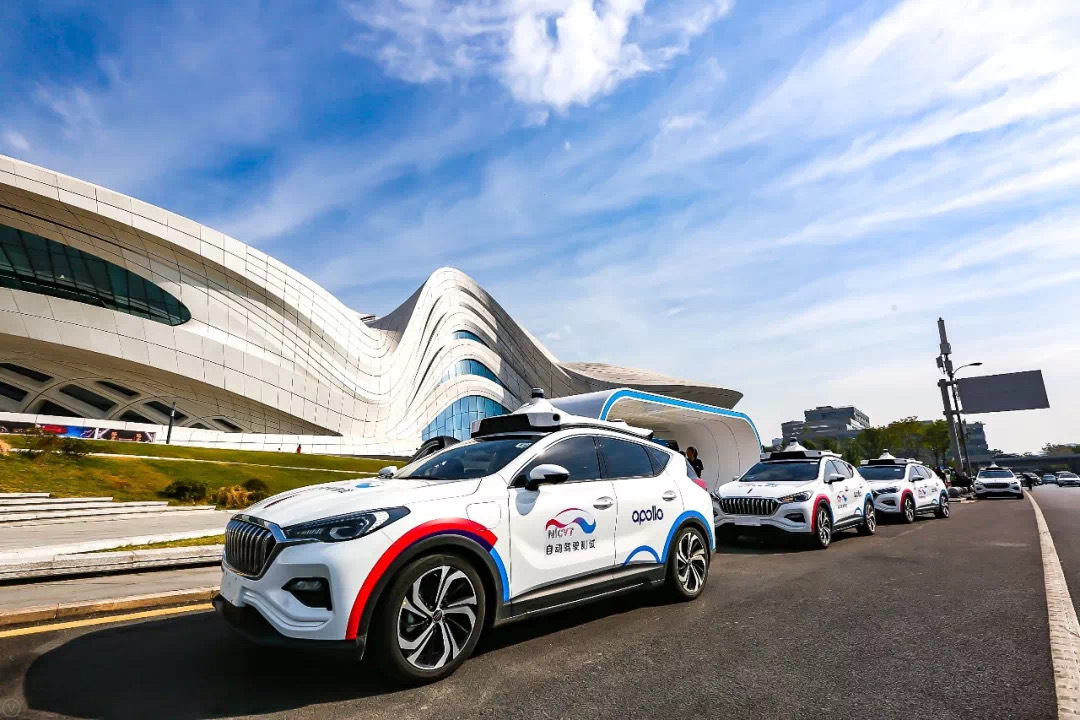Self-driving cars test carrying passengers in 6 Chinese cities