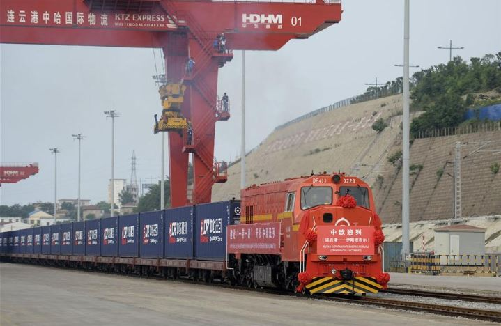 Kazakhstan delivers corns to China by train containers for first time