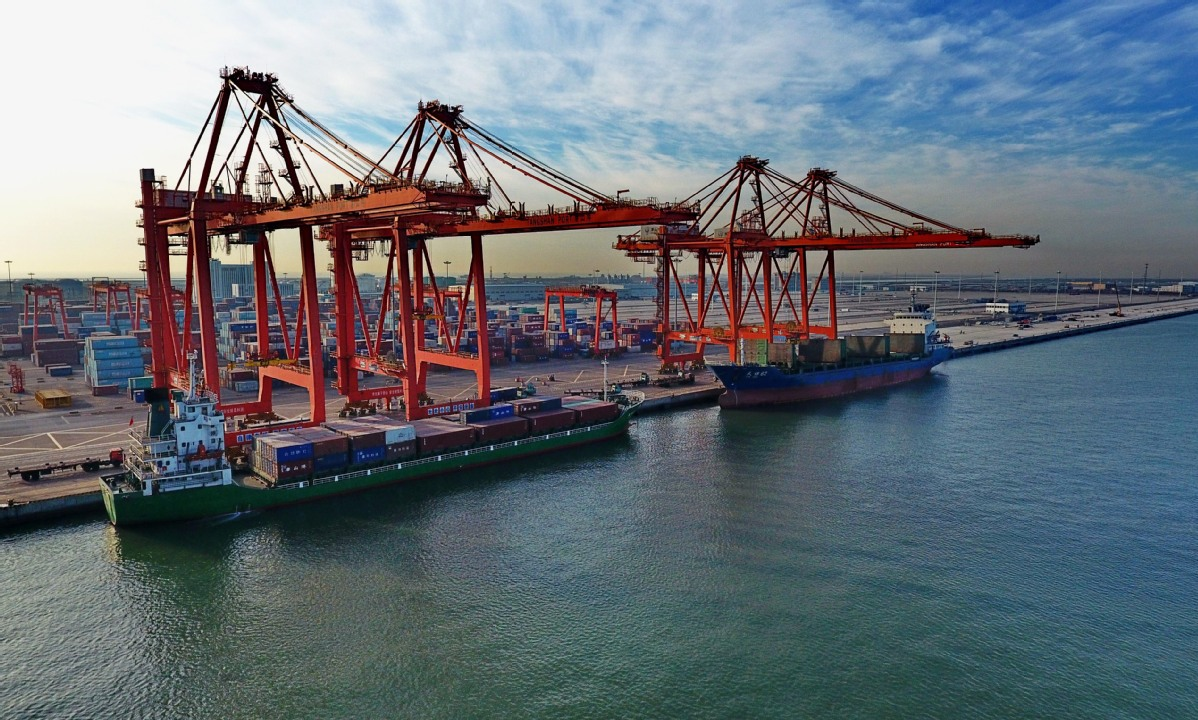 Foreign trade of China's Hebei up in first 11 months