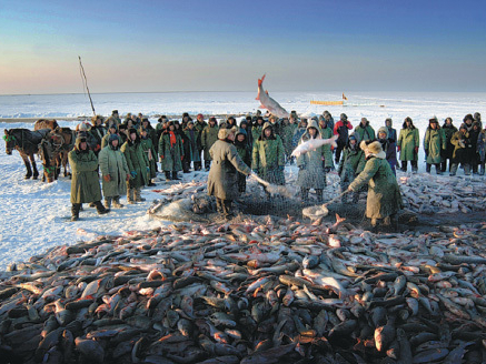 Ice-fishing carnival in Northeast China awaits winter lovers
