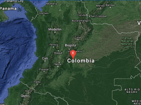 2 strong quakes hit Colombia, no casualties reported