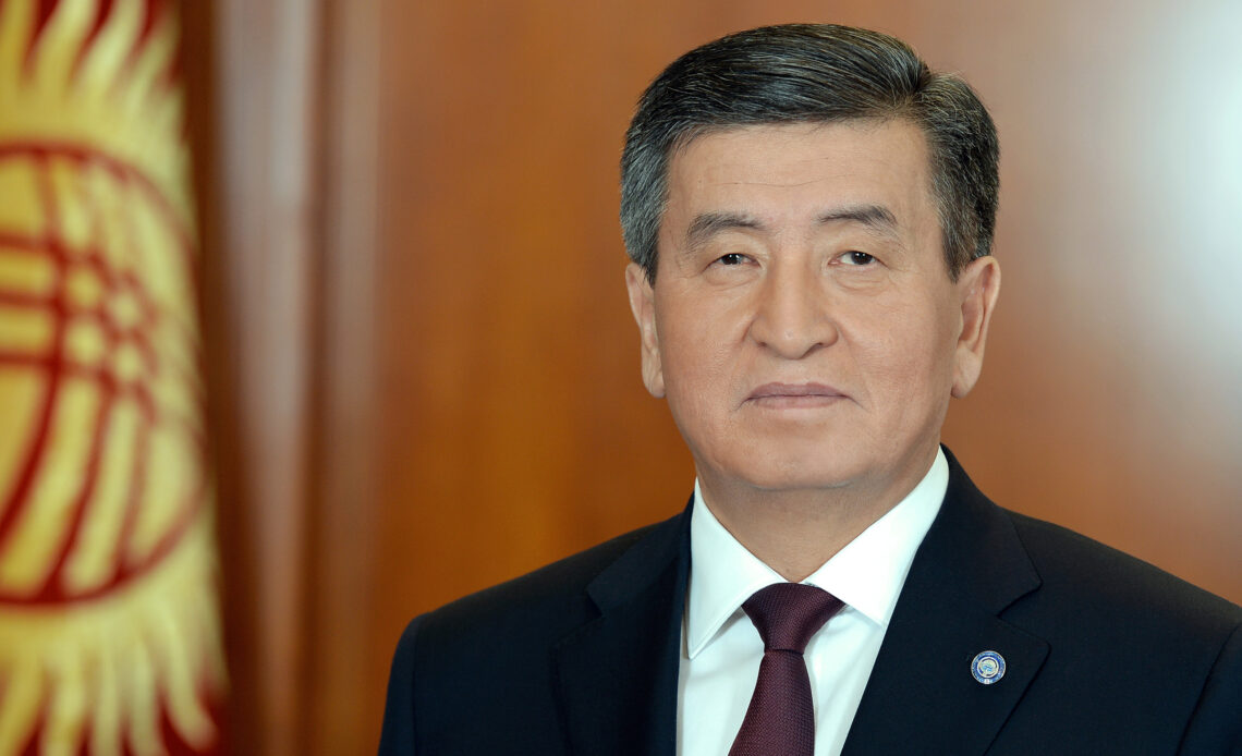 Kyrgyz president says ties with China at high level