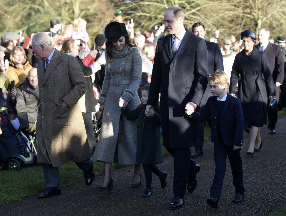 British Queen Elizabeth II, close family celebrate Christmas