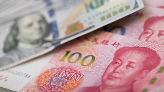 Chinese yuan strengthens to 7.0067 against USD Wednesday