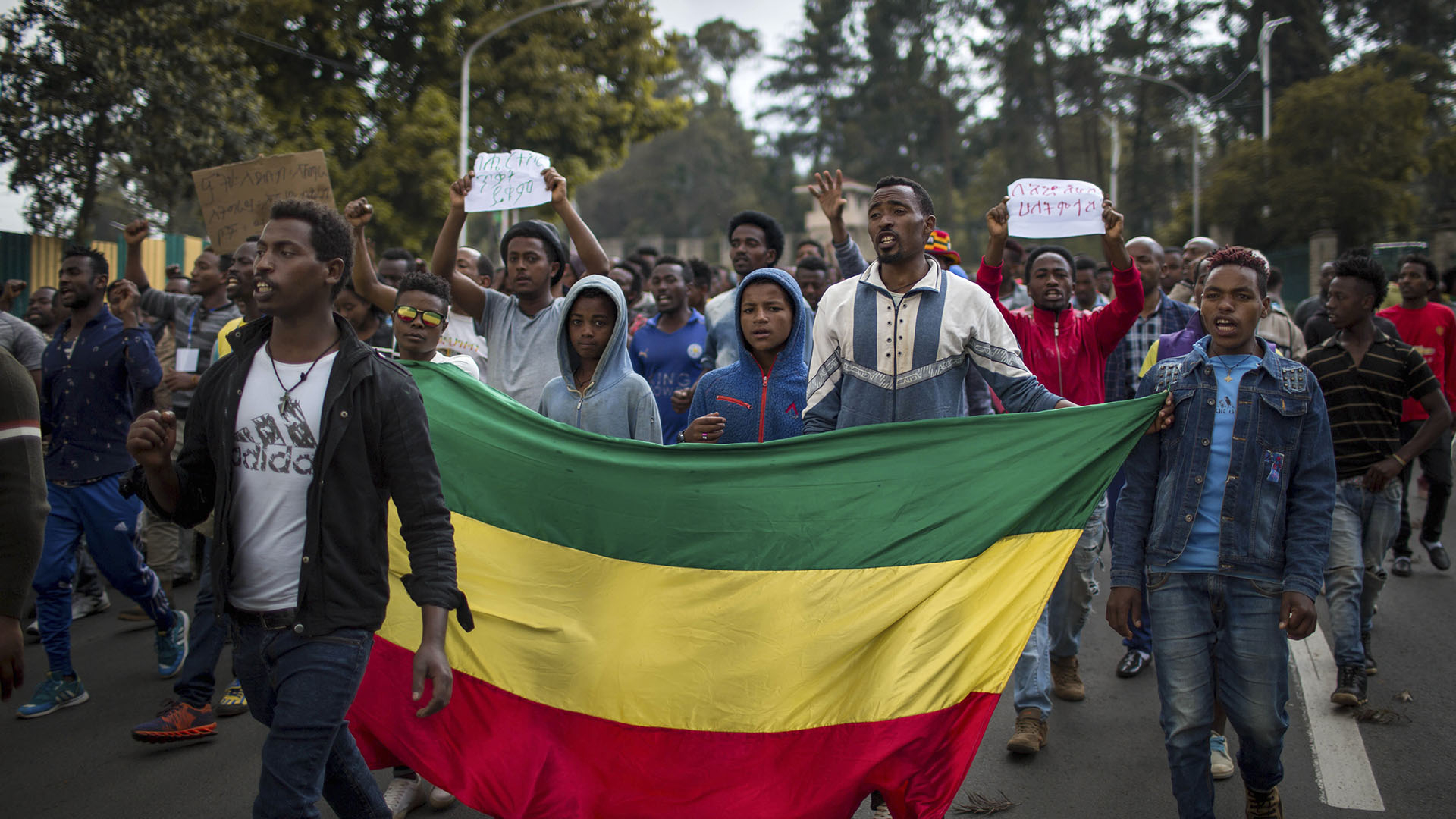 Ethiopian Muslims protests after mosques are burned
