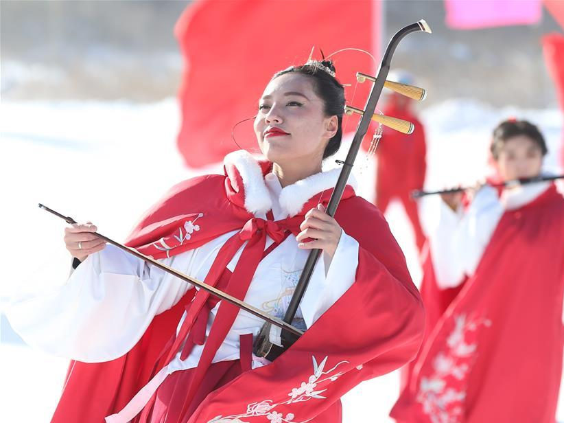 First Snow & Ice Cultural Tourism Festival launched in NW China's Ningxia