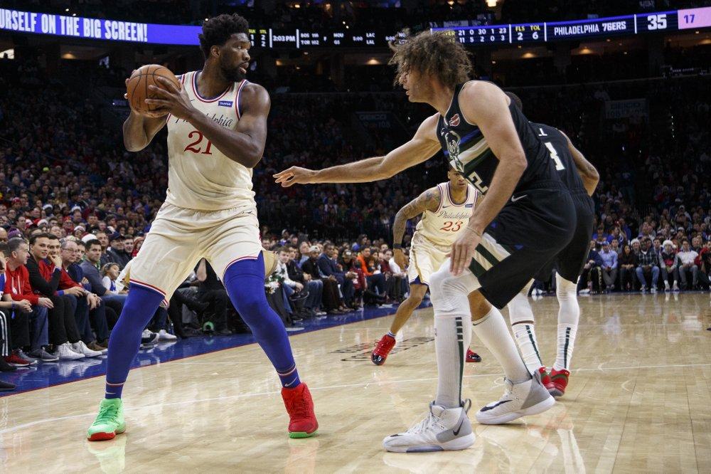 Embiid stars as 76ers beat Bucks 121-109