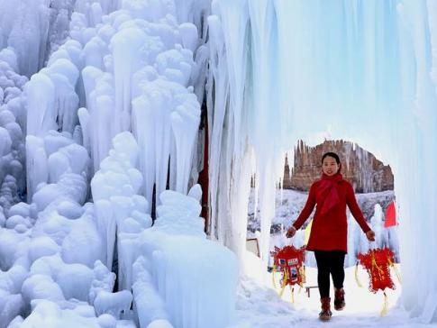 Huhushui scenic area in N. China