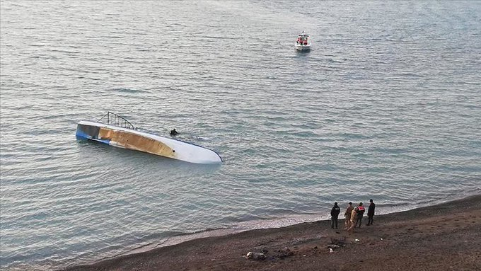 Seven dead as migrants' boat sinks in Turkey's Lake Van
