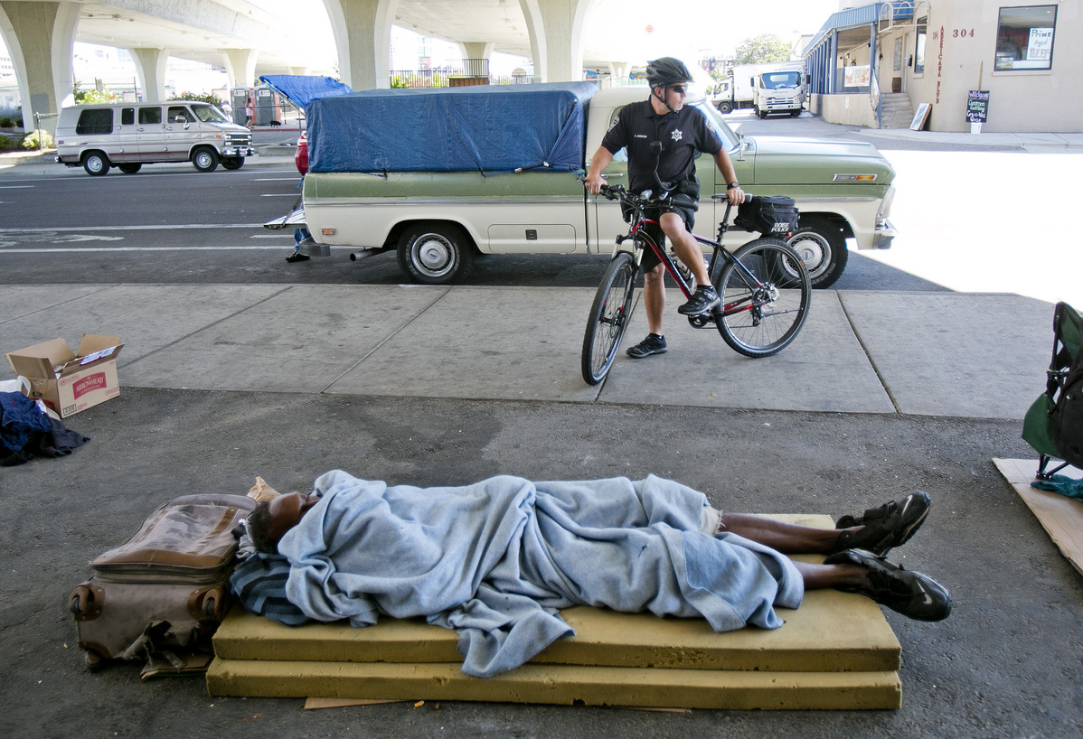 Courts force rethink on the homeless