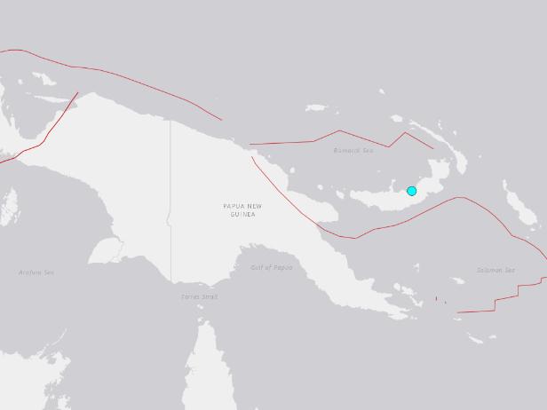 5.2-magnitude quake hits 78km E of Kimbe, Papua New Guinea: USGS