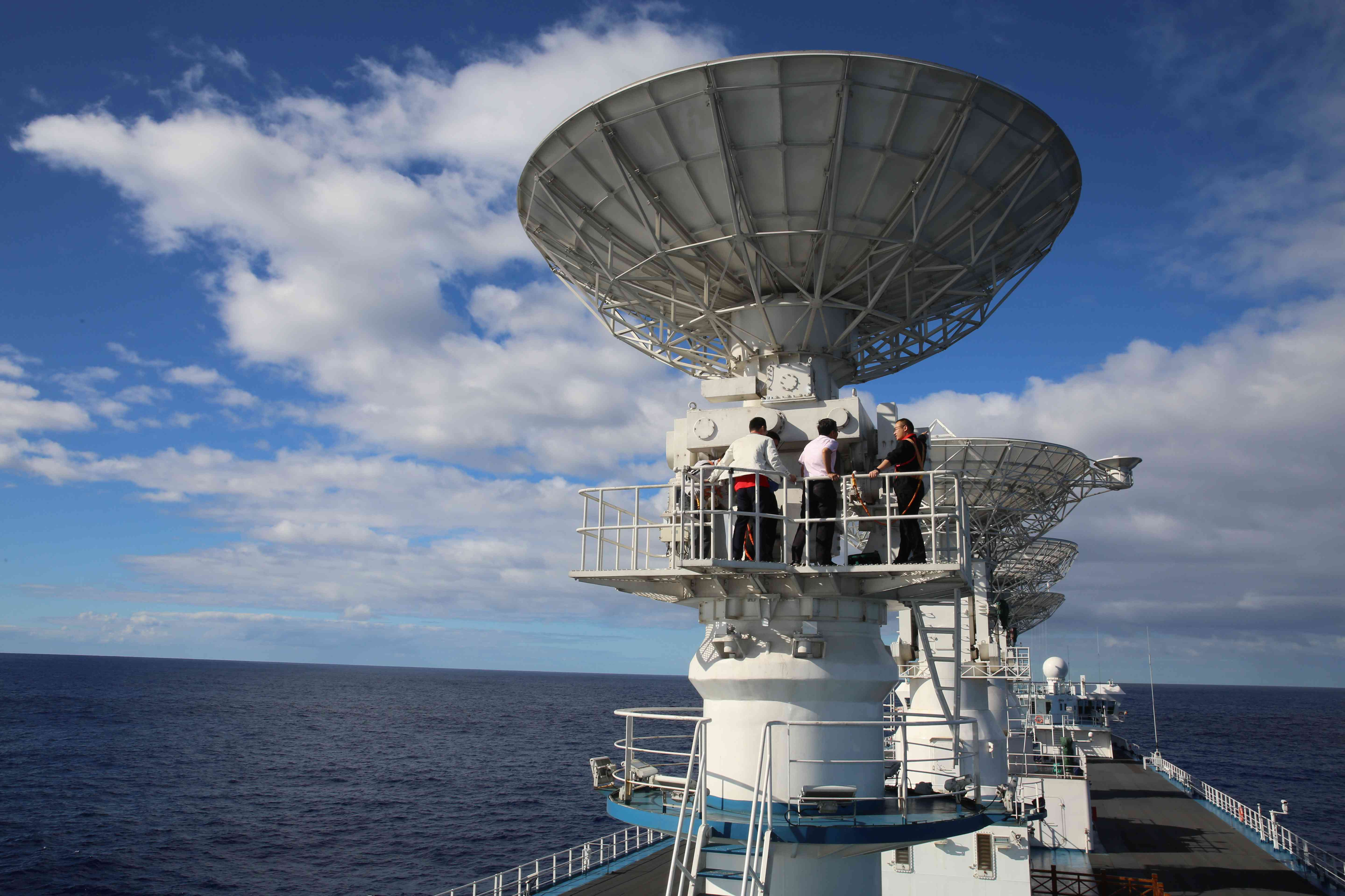 China's spacecraft tracking ships ready for Long March-5 mission