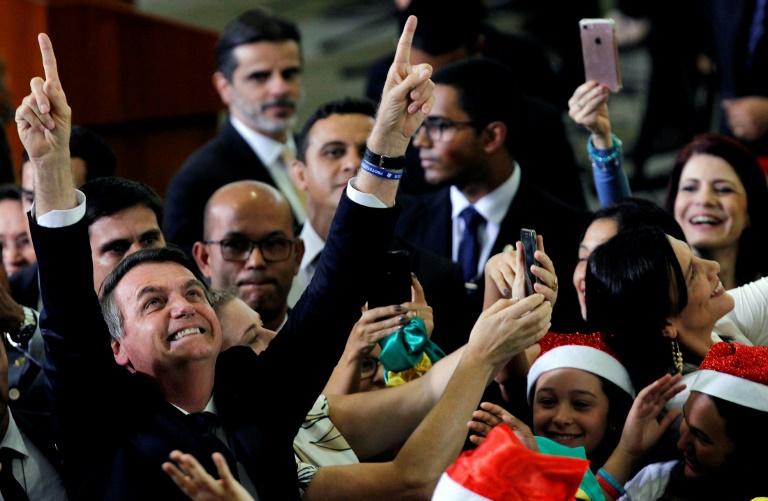 Brazil's Bolsonaro says 'fine' now but lost memory after fall