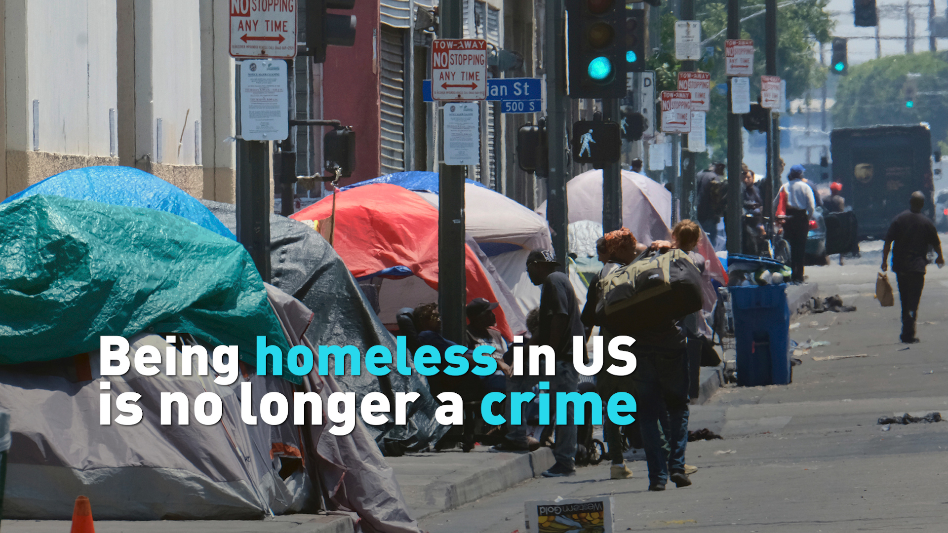 Being homeless in US no longer a crime