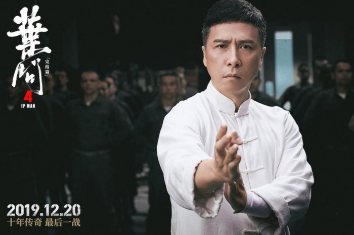 Chinese martial arts film 'Ip Man 4: The Finale' hits North American big screen on Christmas Day