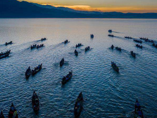 Fishing ban ends on Xingyun Lake in SW China's Yunnan