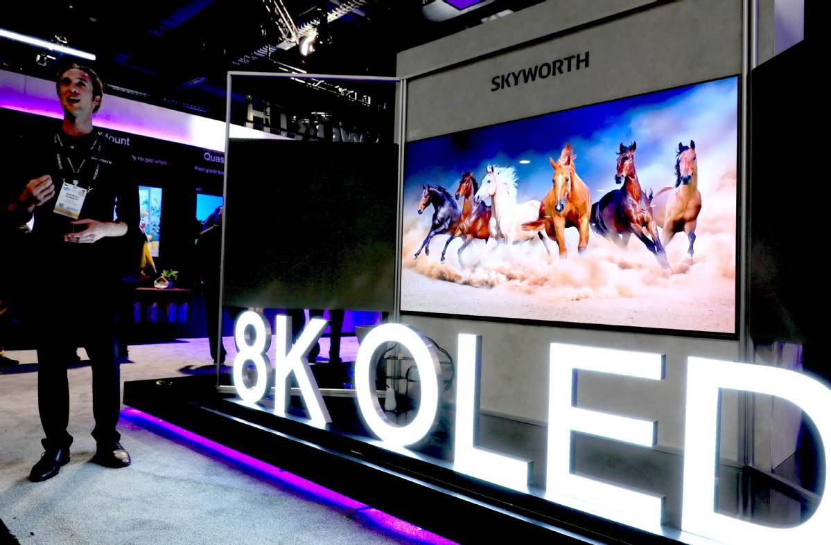 TV makers see bright future for OLED screens