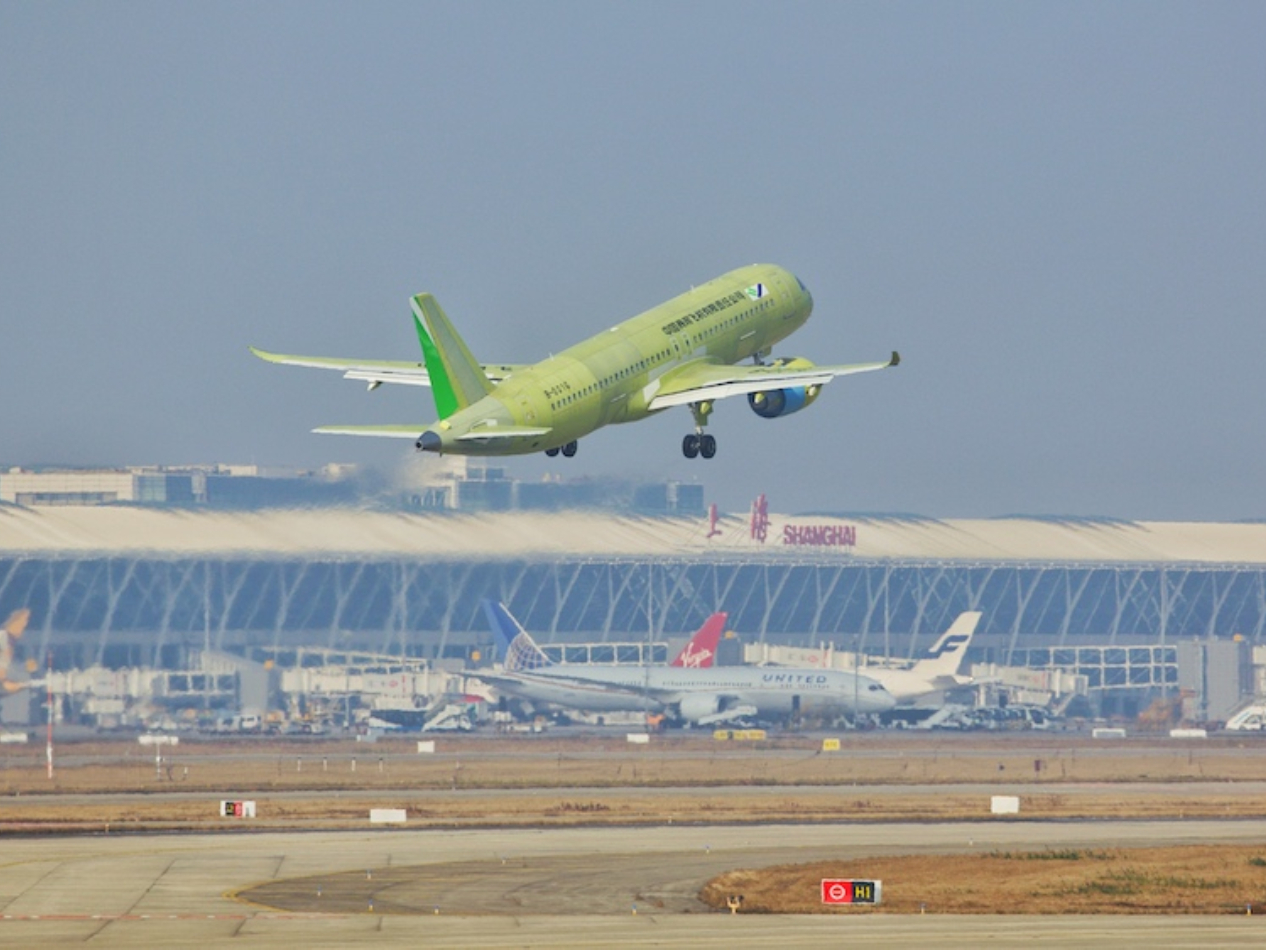 China's 6th C919 test jet completes maiden flight