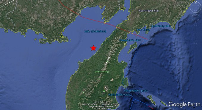 5.4-magnitude quake hits 74km WSW of Palana, Russia: USGS