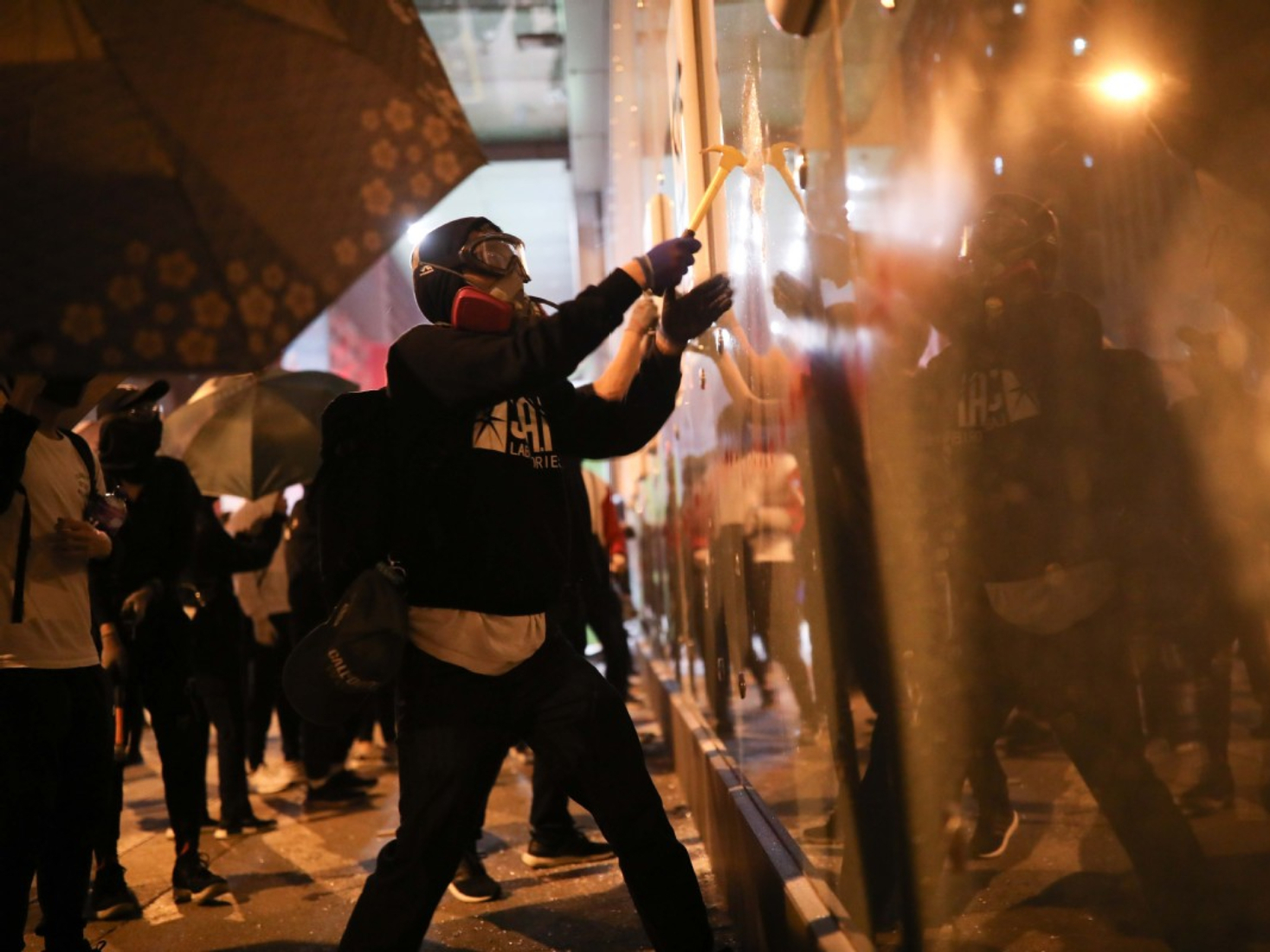 Robberies, burglaries on rise amid HK unrest