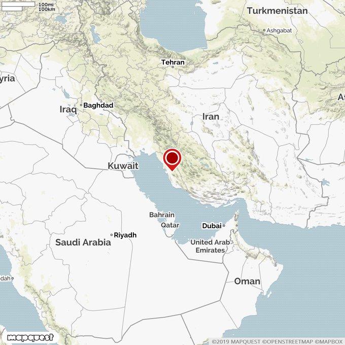 5.1 magnitude quake hits southwestern Iran