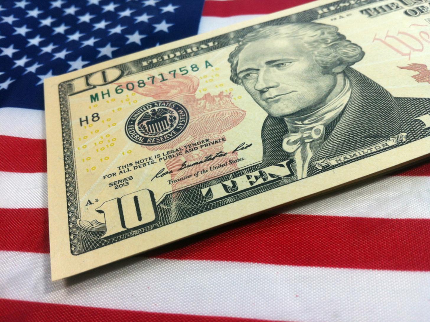 US dollar declines as risk appetite changes