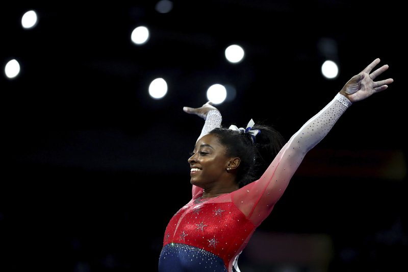 Simone Soars: Biles named 2019 AP Female Athlete of the Year